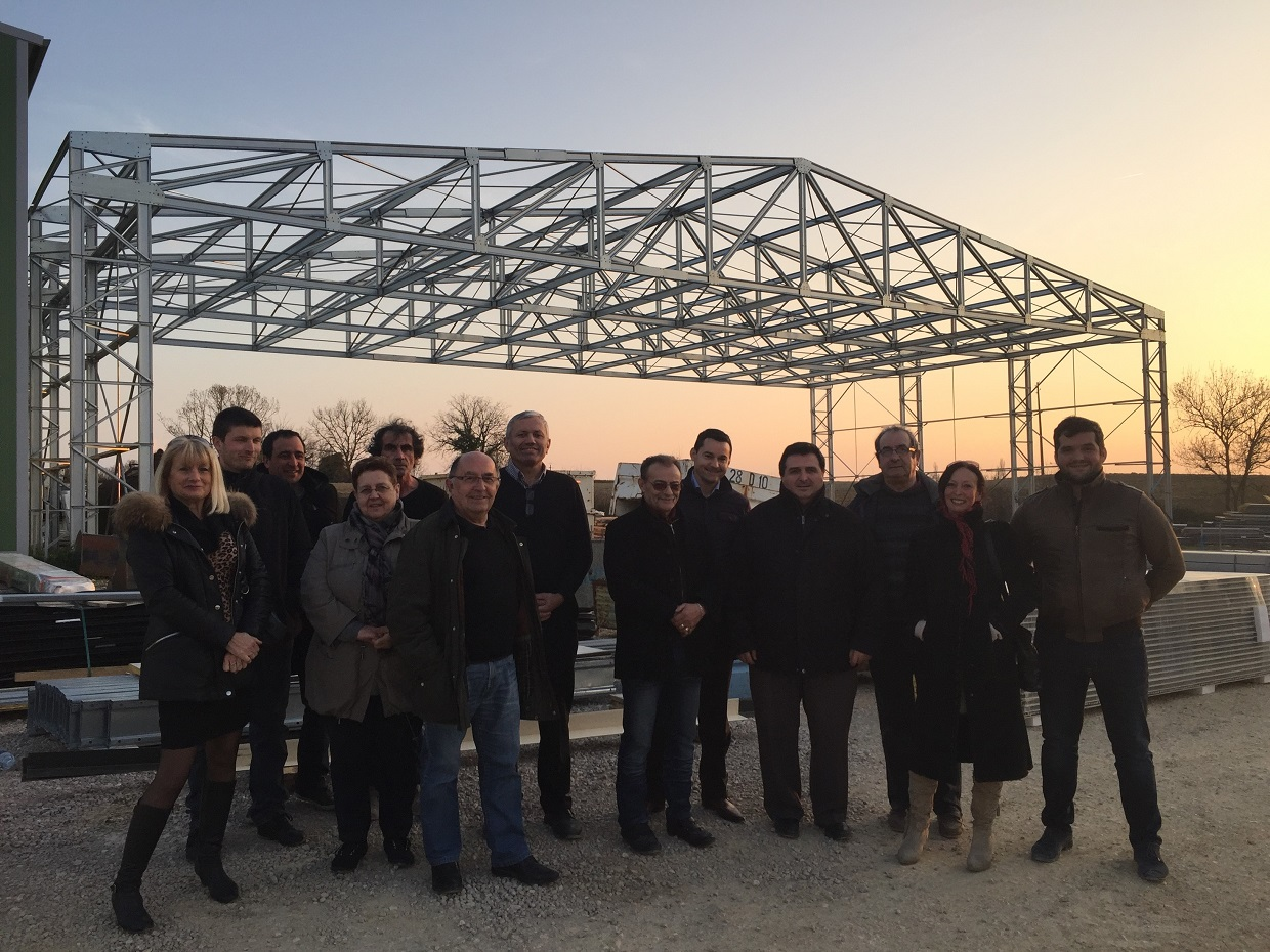 Bastides de lomagne visite New Tech Distri